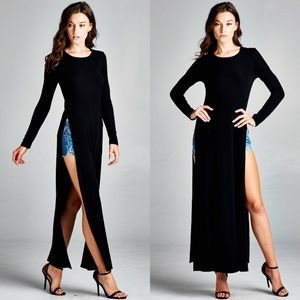 "Bare Anthology Tops - X ""Odyssey"" Double Side Slit Maxi Top"