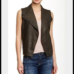 *HOST PICK* VINCE LEATHER VEST