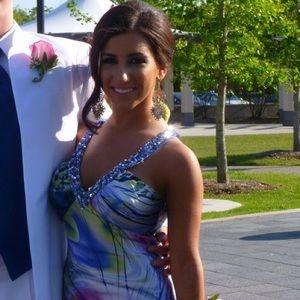 Floor length Prom dress