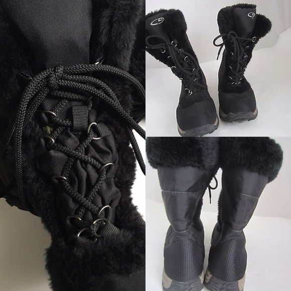 C9 by Champion - ❤ | faux fur lace-up snow boots | from Alli's ...