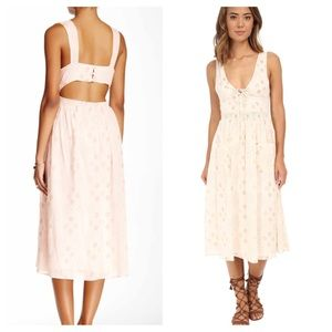Eyelet FREE PEOPLE Vintage Style Tank Dress NWT