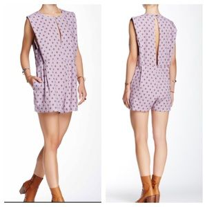 Free People Pants - FREE PEOPLE Lilac Jumpsuit Romper Playsuit NWT