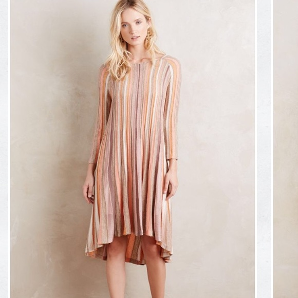 Color patch pullover anthropologie dresses