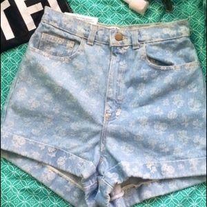 American Apparel Denim Shorts NWT