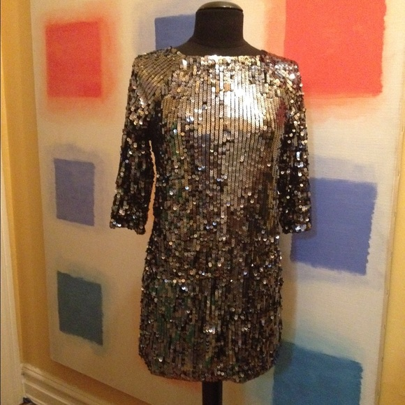 1a412bfd6cf5 Maje Dresses | Classy Sequin Shift Dresshp | Poshmark