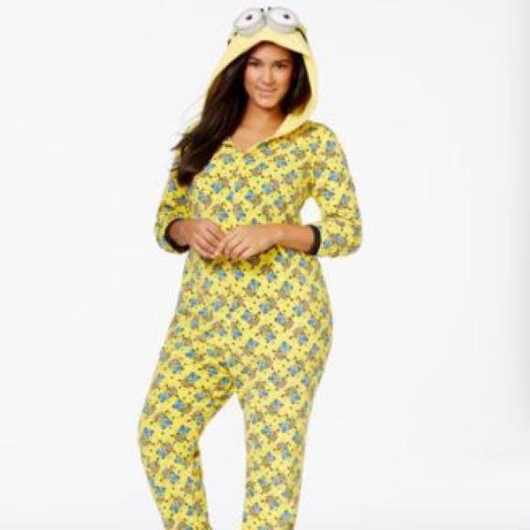 Unisex Plus Size Despicable Me Onesie Pajama fd7e8ed2c