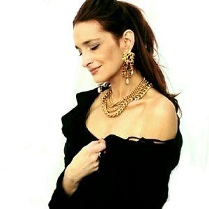 Sorrelli Jewelry - Sorrelli Vintage Multicolored Oversized Earrings