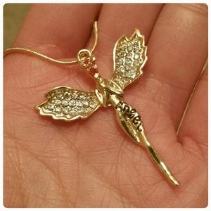 Jewelry - 🔴SOLD🔴 Angel Pendant Necklace