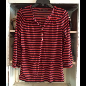 Outback Red Tops - Limited Striped Blouse