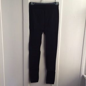 Pants - Thick black leggings (NEW)