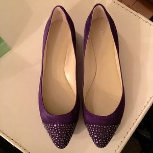 Nine West Purple Flats