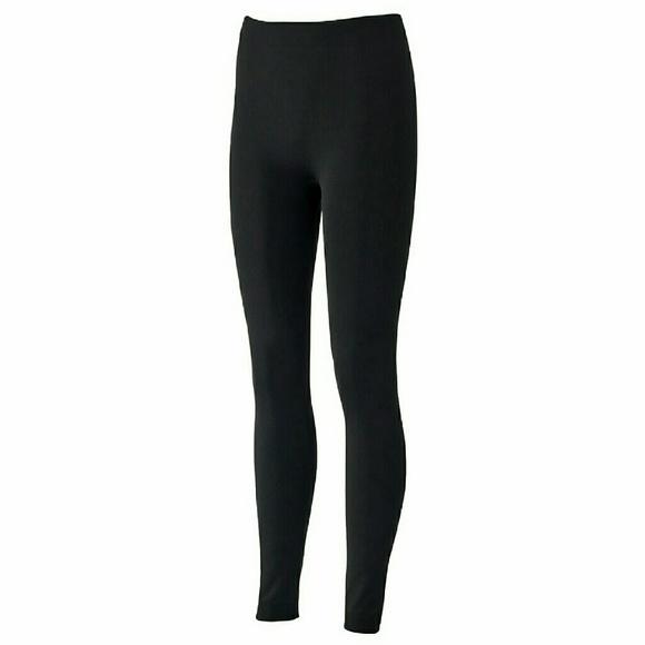 60% off Pink republic Pants - Fleece lined leggings from !?x ...