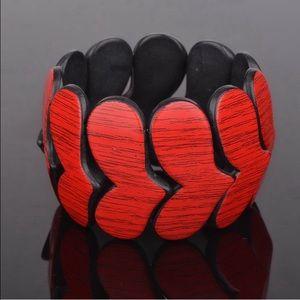 Red Heart Bracelet! NEW!