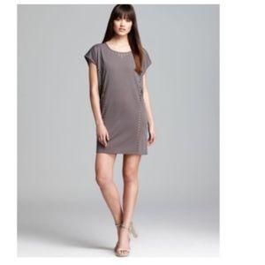 C&C BLACK Laser Cut Shift Dress