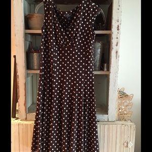 American Living Dresses & Skirts - Polka dot Dress