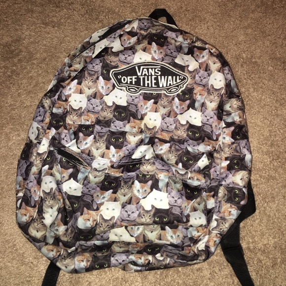Vans X ASPCA Backpack cats. M 5656c0db7fab3aaf1200cba1 7174f6395edf0