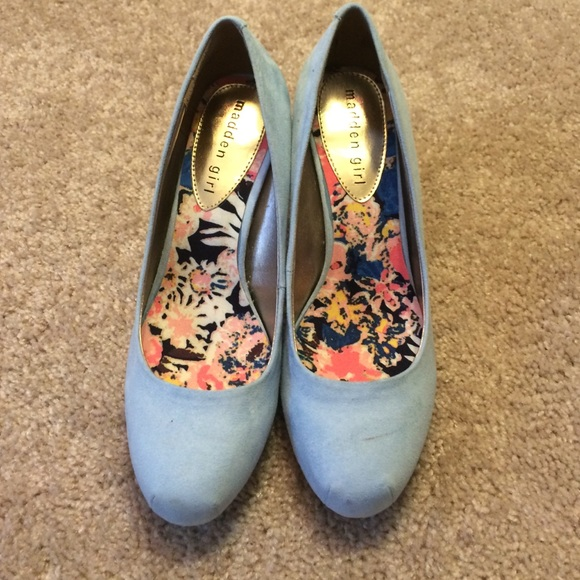 08f68a1b727 Madden Girl Shoes - Baby blue madden girl pumps