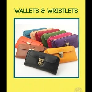 Handbags - WALLETS AND WRISTLETS