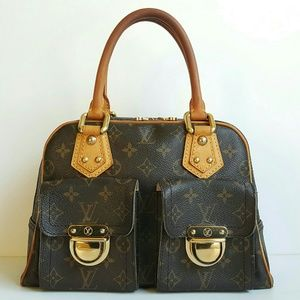 LOUIS VUITTON MONOGRAM MANHATTAN PM BAG