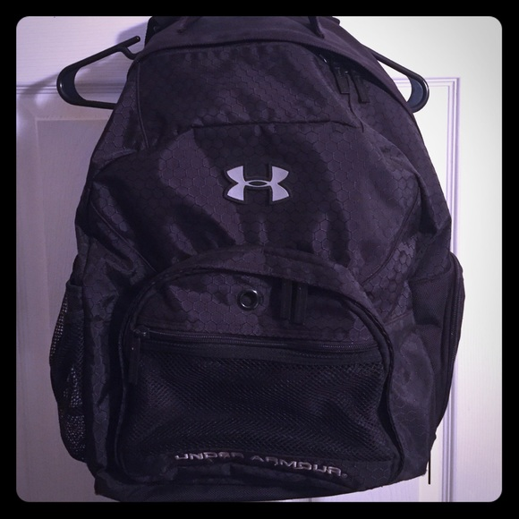 3e9e0b23ae1 Under Armour Bags   Black Backpack   Poshmark
