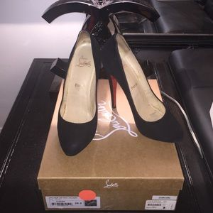 Sold locally Christian Louboutin heels