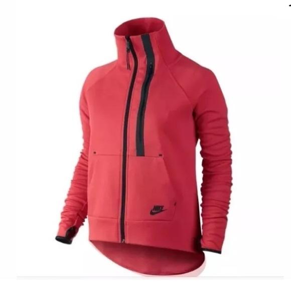 New Nike Tech Fleece Moto Women s Cape Size Small e999d8f520