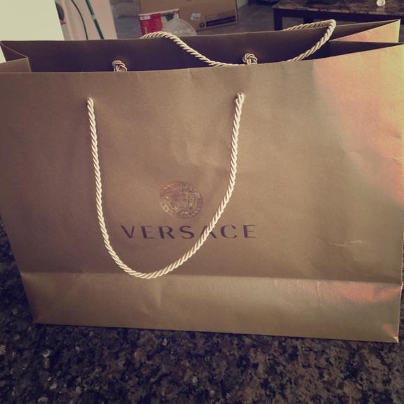 6ced2353dc Large Versace gift bag. M 56576fd5d14d7b4188001f81