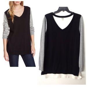 14th & Union  Sweaters - Color block pullover