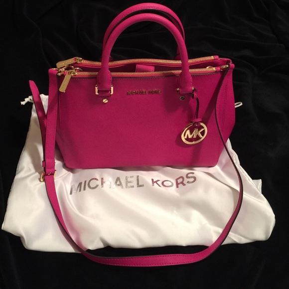 4838335cabc4 MICHAEL Michael Kors Bags | Authentic Michael Kors Medium Sutton ...