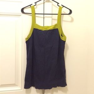 Old Navy Colorblock Sweater Shell Tank XL