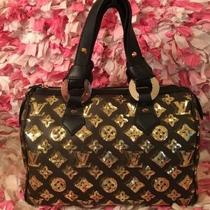  Louis Vuitton limited edition sequin