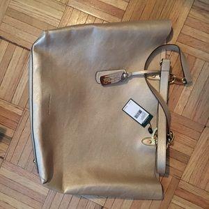 77c8120320 Ralph Lauren Bags - Gold Ralph Lauren tote shoulder bag
