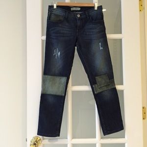 ABS patch jeans
