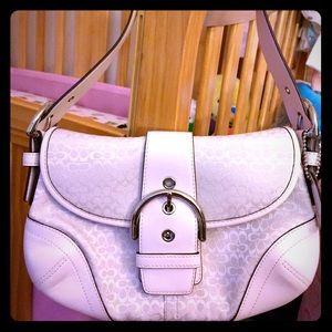 Coach Handbags - LIKE NEW🌟 Coach mini signature Soho handbag