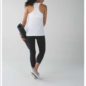 fe907fb7f57 lululemon athletica Pants | Lululemon Zone In Crop Black Size 4 Bnwt ...