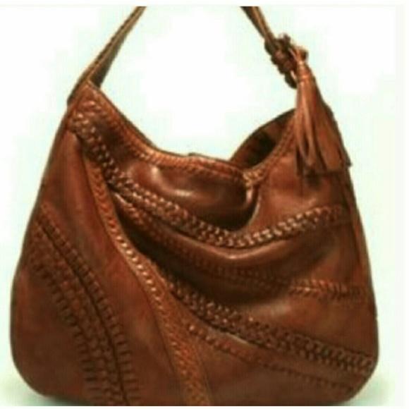 0d32bca3e7 Lockheart Handbags - Lockheart Sienna Braided Leather  Boho Hobo Bag