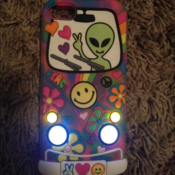 best service 88875 c4b3a Claire's hippie alien iPhone 5/5s/5c case