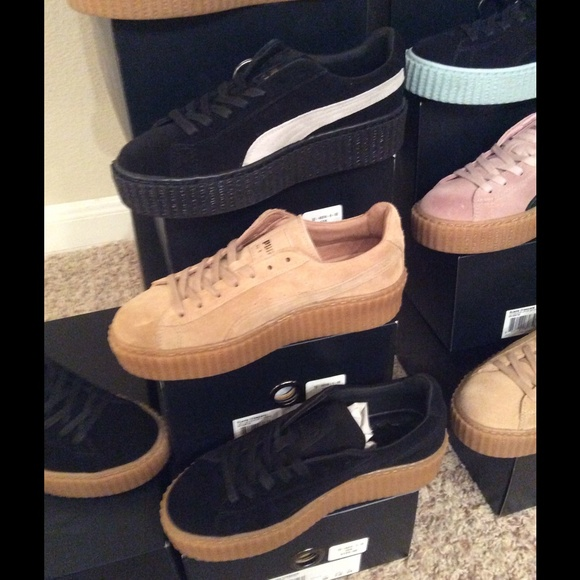 hot sale online 8f98c 00238 cheap puma x rihanna fenty creeper sneakers 1603b 5c625
