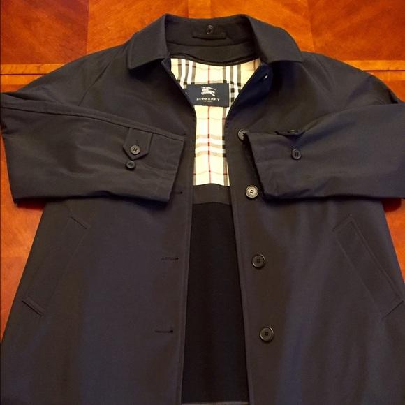 780e2b792b654 Burberry Jackets   Blazers - Burberry Raincoat Black (size ...