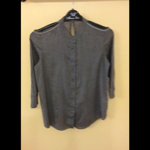 Ports 1961 Tops - Ports 1961 gorgeous grey top,size 6,like new