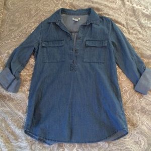 Old Navy Tops - Old navy chambray Tunic