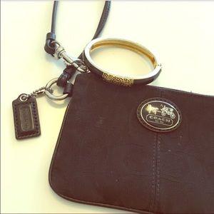 Coach Bags - 😎 Coach Black Wristlet 😎