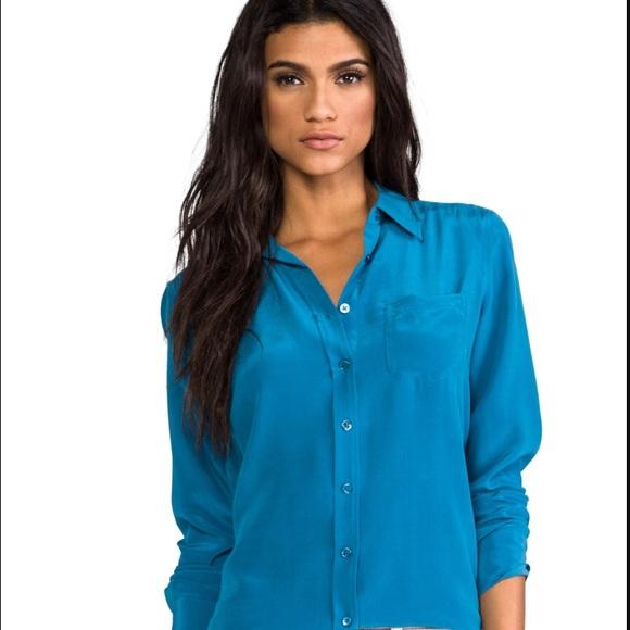 de188fd157e898 Equipment Brett Silk Shirt