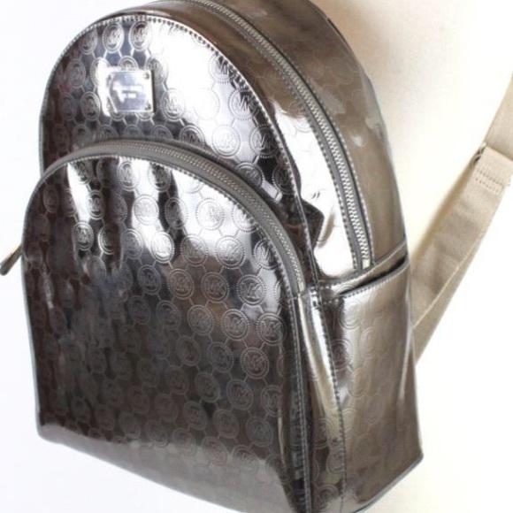 25a820488513 Gorgeous Michael Kors Metallic Backpack