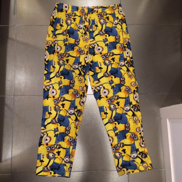 cc49fda56a0e Despicable Me Pants - Minion Pajama Pants X-Large