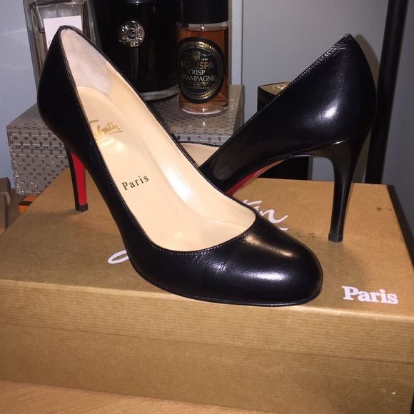 detailed look e3344 29749 Christian Louboutin Simple Pump 85mm