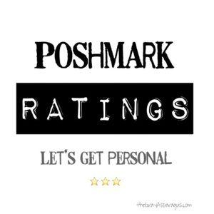 New Post! POSHMARK RATINGS theGrayAsparagus.com