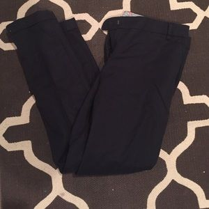 Pants - Navy cropped dress pants