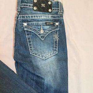 Miss Me Pants - Miss Me plain pocket jeans