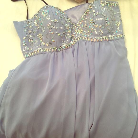 Macy\'s Dresses | Beautiful Purple Prom Dress | Poshmark